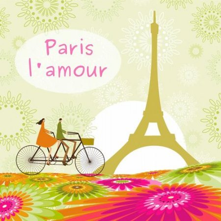 Cover Album of Paris Lamour (2013)