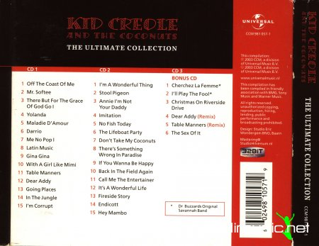 Kid Creole & The Coconuts - The ultimate collection (2003) 3CD