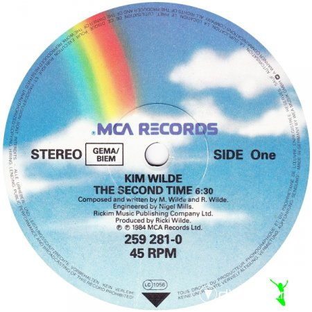 Kim Wilde  - The Second Time (12'' Version)