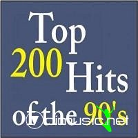 Top 200 Hits of the 90s (1990-1999)