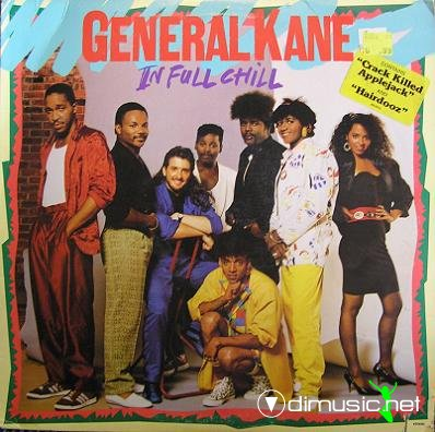 General Kane - 1986 - In full chill (lp)
