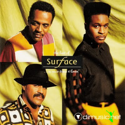 Cover Album of Surface - The Best Of Surface... A Nice Time 4 Lovin (1991)