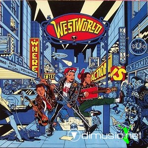 Cover Album of Westworld - Where the Action is (1987)