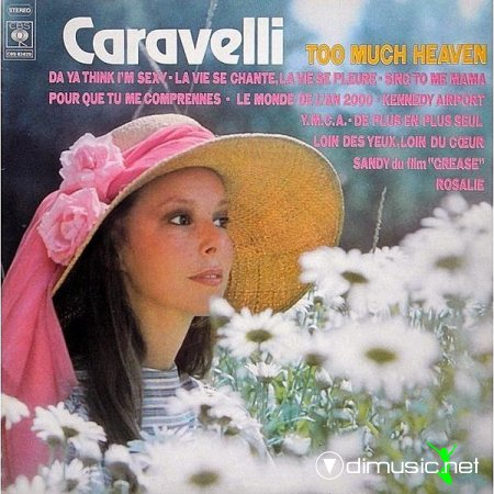 Caravelli - Too much heaven (1979)