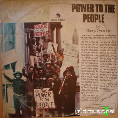 Sonny Okosun - Power to the people (1979)