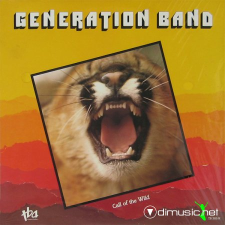 Generation Band - Call of the wild (1984) lp