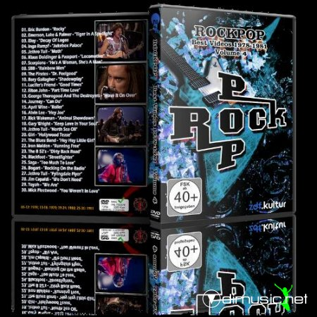 VA - RockPop, Best Videos 1978 - 1981, Vol. 4 (2013) DVD5 + AVI