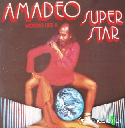 Amadeo - Moving like a superstar (1977) lp