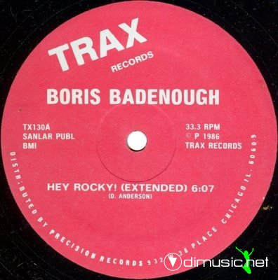 Boris Badenough - Hey Rocky! (Vinyl, 12) 1986
