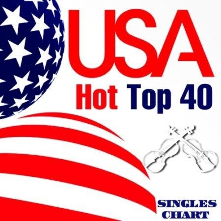 USA Hot Top 40 Singles Chart 6 April (2013)