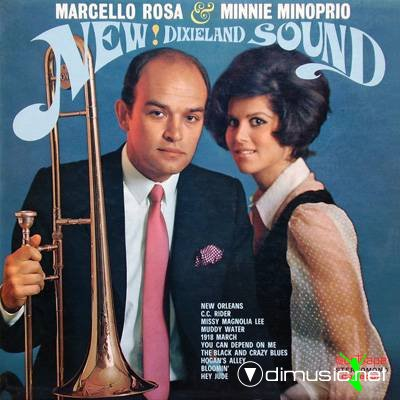 Marcello Rosa & Minnie Minoprio - New! Dixieland Sound (1969)