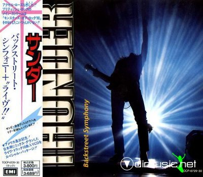 Thunder - Backstreet Symphony + Live [2CD] (1990) [Japan Special Edition 1991]