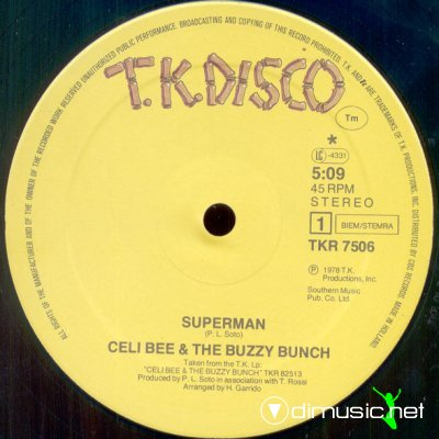 Celi Bee And The Buzzy Bunch - Superman (Vinyl, 12) 1980