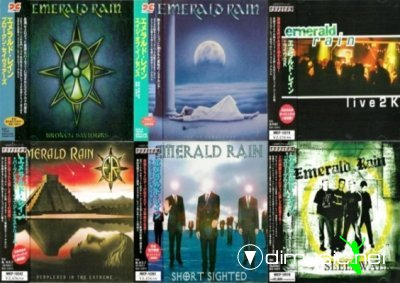 Emerald Rain - Discography 6CD (Japan Edit. 1998-2005)