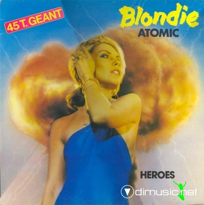 Blondie - Atomic (Remixes) (Maxi-CD-1994)