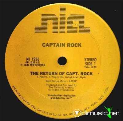 Captain Rock - The Return Of Captain Rock (Vinyl, 12'') 1983