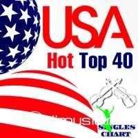 USA Hot Top 40 Singles Chart 13-April (2013)