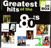 Cover Album of Greatest Hits Collection 80s 8 CD (1998)