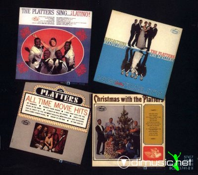 The Platters - Four Platters And One Lovely Dish (9 CD) 1994
