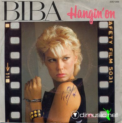 Biba - Hangin' On  Space Travel ,Vinyl 7