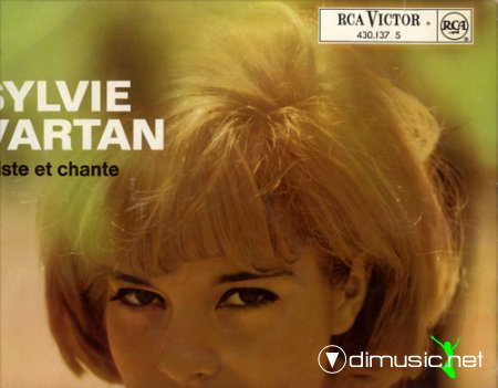 Sylvie Vartan - Twiste et Chante - RCA 430.137 (RARE BLACK RCA LABEL)