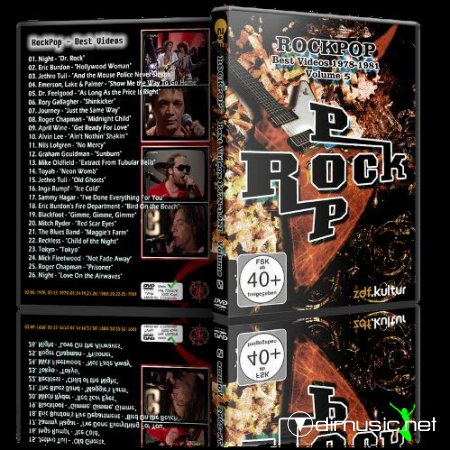 VA - RockPop, Best Videos 1978 - 1981, Vol. 5 (2013) DVD5 + AVI