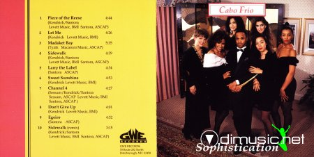 Cabo Frio - Sophistication (1992) CD