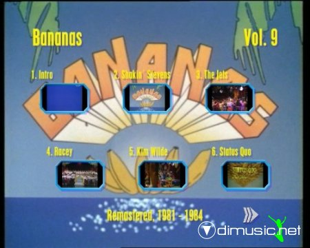 Bananas- Best Videos from 1981 - 1984, Vol.9 (2012) DVD 5
