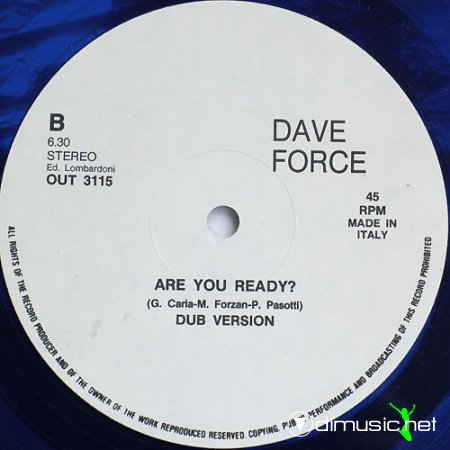 Dave Force - Are You Ready