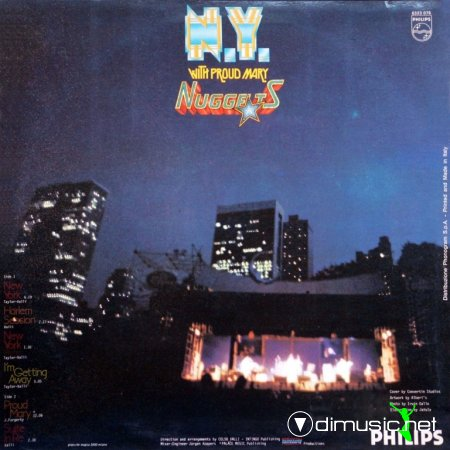 Nuggets - N.Y. With Proud Mary (Vinyl, LP) (1979)