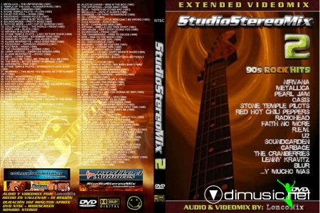 STUDIO STEREO MIX - VOL.2 - DVD FULL