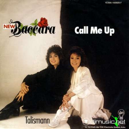 New Baccara - Call Me Up - Single 7 - 1987