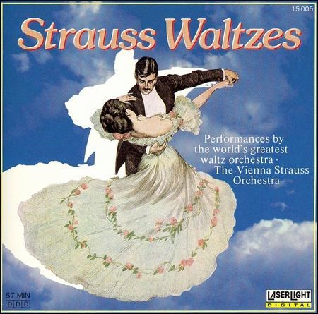 The Vienna Strauss Orchestra - Strauss Waltzes (1987)