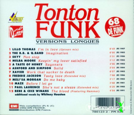 V.A. - Tonton Funk (Versions longues) vol.1