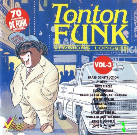 V.A. - Tonton Funk (Versions longues) vol.3