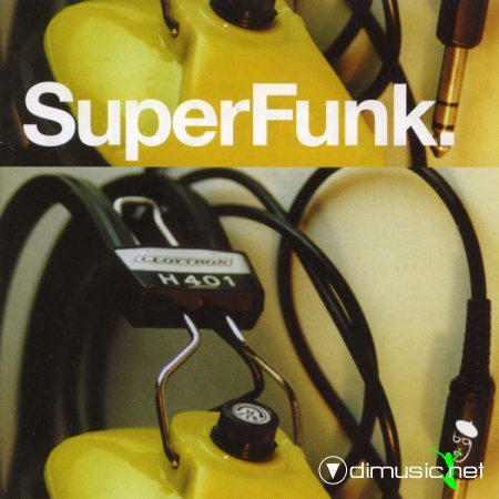 V.A. - SuperFunk Vol.1-7 (rare funk from deep in the crates) (2000) CD