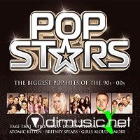 Pop Stars - The Biggest Pop Hits Of The 80s-00s (3 CD)