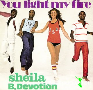 Sheila & B. Devotion - You light my fire (1979)