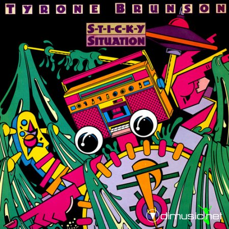 Cover Album of Tyrone Brunson - Sticky situation (1983)