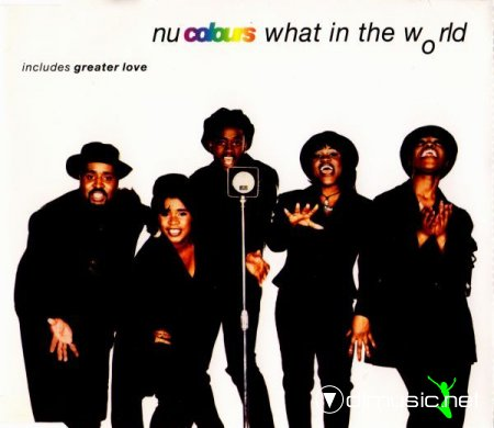 Nu Colours - What In The World (CARDD4) CDM 1993