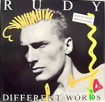 Rudy - Different Words (Vinyl, 12'') 1987