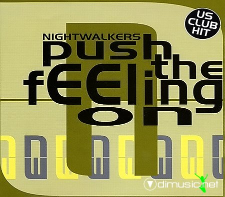 Nightwalkers - Push The Feeling On (CD, Maxi-Single) 1994