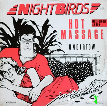 Nightbirds - Hot Massage (Vinyl, 12'') 1984
