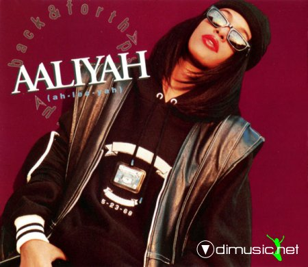 Aaliyah - Back & Forth (CDM) (1994)