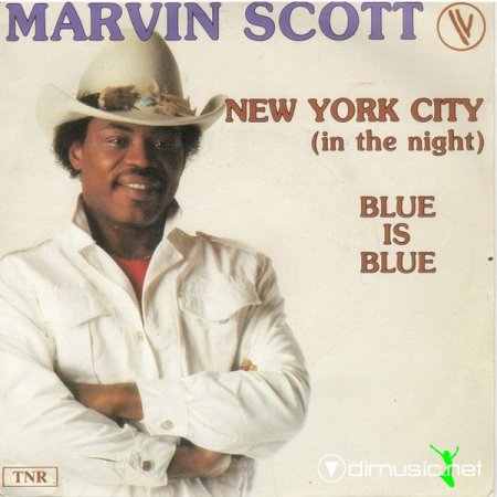 Marvin Scott ‎- New York city (in the night) (1983)