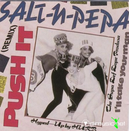 Salt 'N' Pepa - Push It (CD, Maxi-Single) 1988
