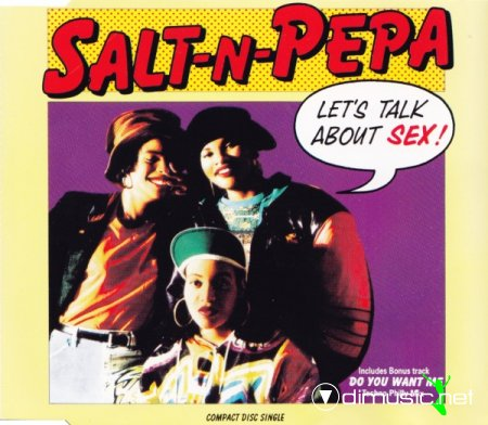 Salt 'N' Pepa - Let's Talk About Sex (CD, Single) 1991