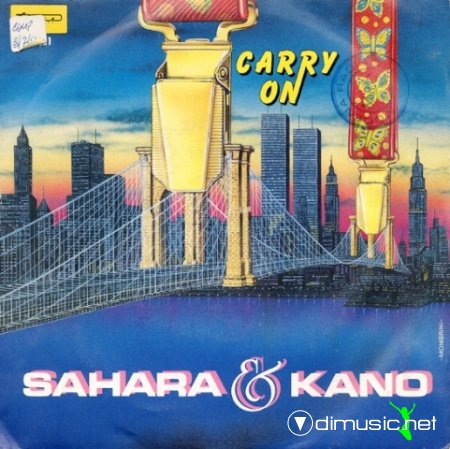 Sahara & Kano - Carry On (Vinyl, 12'') 1984