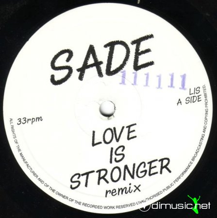 Sade - Love Is Stronger (Remix) (Vinyl, 12'') 1996