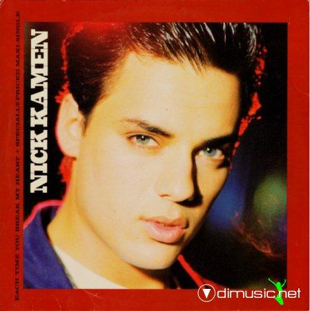 Nick Kamen - Each Time You Break My Heart (Vinyl, 12'') 1986